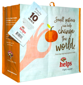 Hannaford Fight Hunger Bag - New